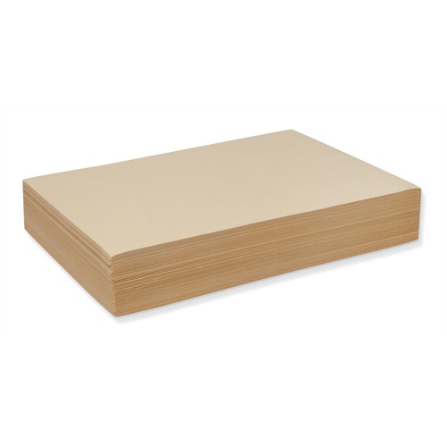 Pacon Drawing Sheet - 500 Sheets - Cream Paper - Recyclable, Mediumweight - 500 / Pack
