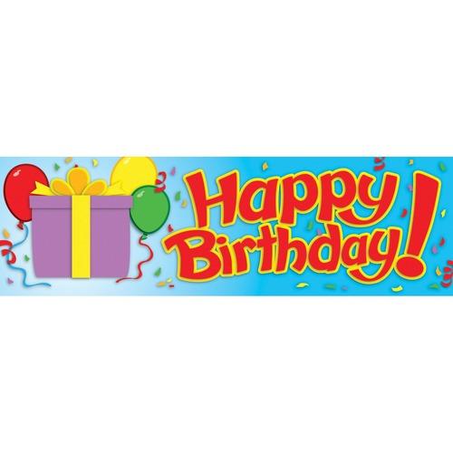 "Carson Dellosa Education Birthday Bookmarks - Fun, Encouragement, Birthday Theme/Subject - 2"" (50.8 mm) Width x 6.50"" (165.1 mm) Length - 30 / Pack"