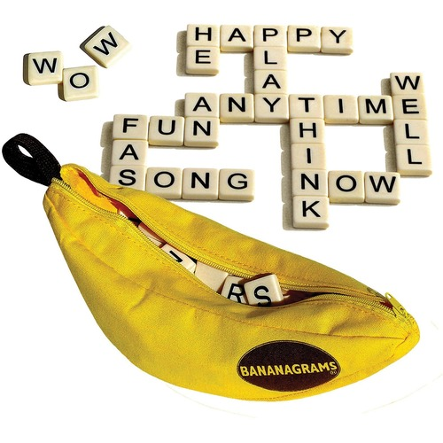 Bananagrams Scramble Game - Learning