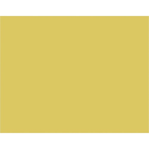 """Pacon Bristol Board - Art Project, Poster x 22"""" (558.80 mm)Width x 12 mil (0.30 mm)Thickness x 28"""" (711.20 mm)Length - 25 / Pack - Yellow"""