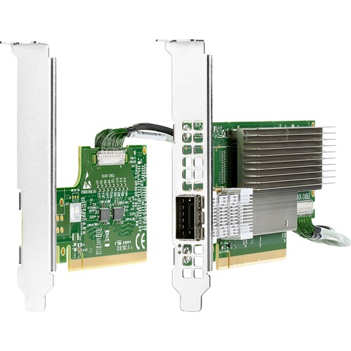 HPE InfiniBand HDR PCIe3 Auxiliary Card with 350mm Cable Kit