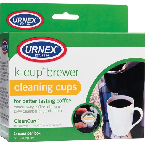 Weiman Urnex K-Cup Brewer Cleaning Cups - For Coffee Brewer - Phosphate-free, Odorless - 20 / Carton - Multi
