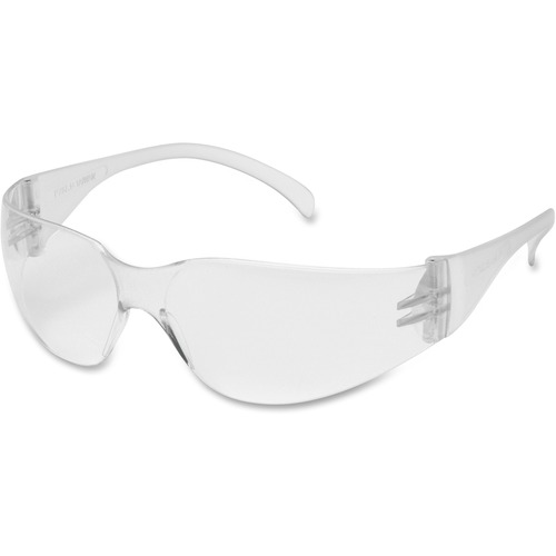 Clear Lens with Clear Frame Safety Glasses, 810 Classic Style Series - Recommended for: Eye - Frameless, Comfortable, Lightweight, High Visibility - U