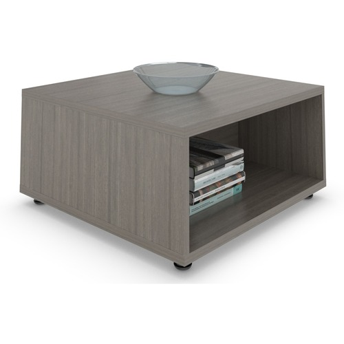 """Offices To Go Ionic Table - 29"""" x 29"""" x 16"""" - Material: Particleboard, Thermofused Laminate (TFL) - Finish: Absolute Acajou"""