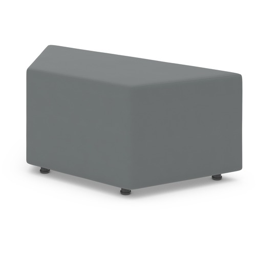 """Offices To Go Craft - Wedge Unit - 40"""" (1016 mm) x 17.75"""" (450.85 mm) x 17.50"""" (444.50 mm) - 1 Each"""