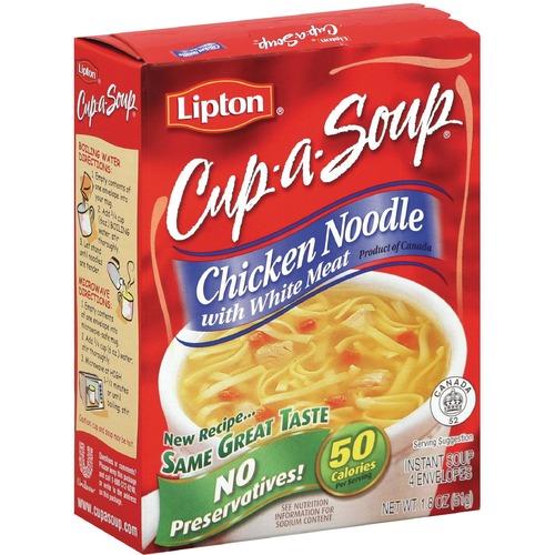 Cup-a-Soup Soup - Chicken Noodle - 16 g - 4 / Box