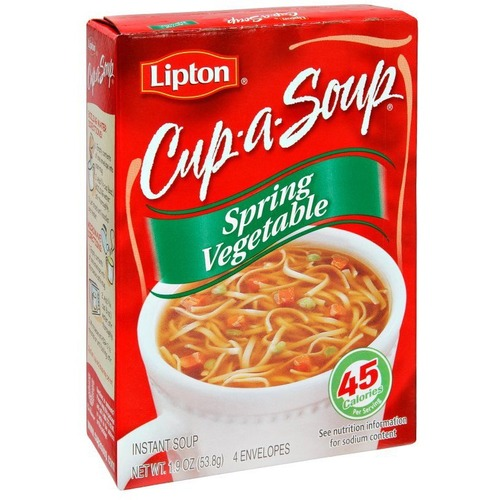 Cup-a-Soup Soup - Spring Vegetable - 16 g - 4 / Box