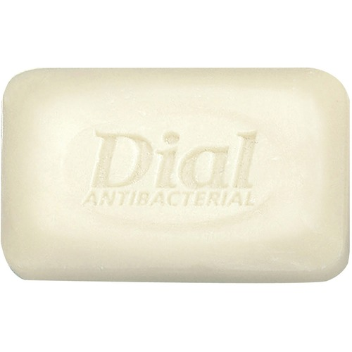 Dial Antibacterial Bar Soap - 2.50 oz - Bacteria Remover - Hand, Skin - White - Rich Lather, Deodorize - 200 / Carton