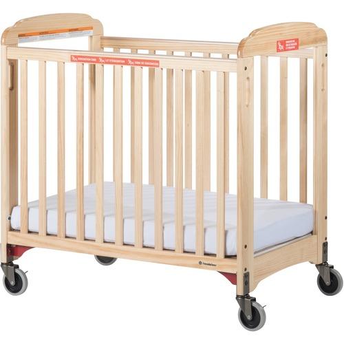 Foundations Next Gen First Responder Compact Crib - Natural - Steel
