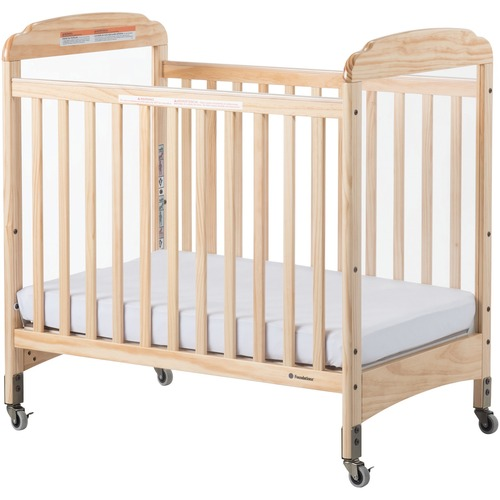 Foundations Next Gen Serenity Compact Crib - Natural - Steel