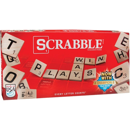 Hasbro Scrabble Game - 2 to 4 Players - 1 Each