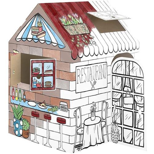Bankers Box At Play Treats 'N Eats Playhouse, 1Pk - White