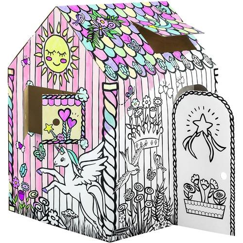 Bankers Box At Play Unicorn Playhouse, 1Pk - White