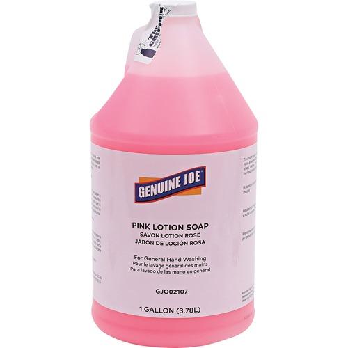 Genuine Joe Pink Lotion Soap