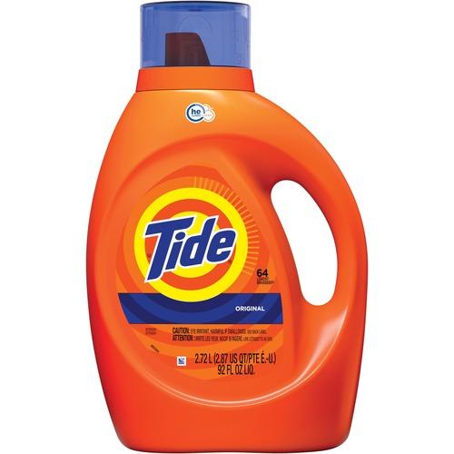 Tide Liquid Laundry Detergent - Concentrate Liquid - 92 fl oz (2.9 quart) - Original Scent - 1 / Bottle - Blue