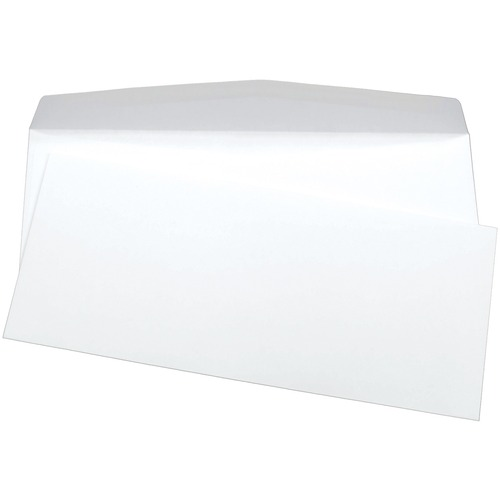 "Supremex InkJet and Laser Envelope - #10 - 9 1/2"" Width x 4 1/8"" Length - 24 lb - 500 / Box - White"