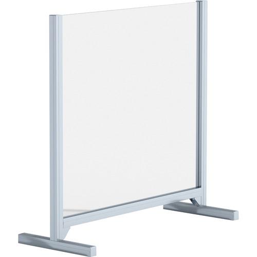 link Lorell Adjustable Height Glass