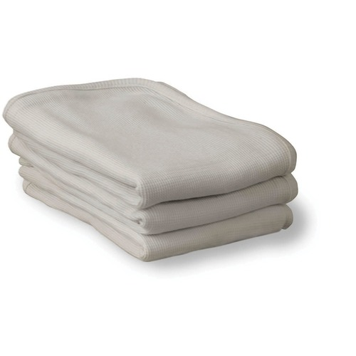 """Foundations ThermaSoft Blankets - 30"""" Width x 40"""" Length - White"""