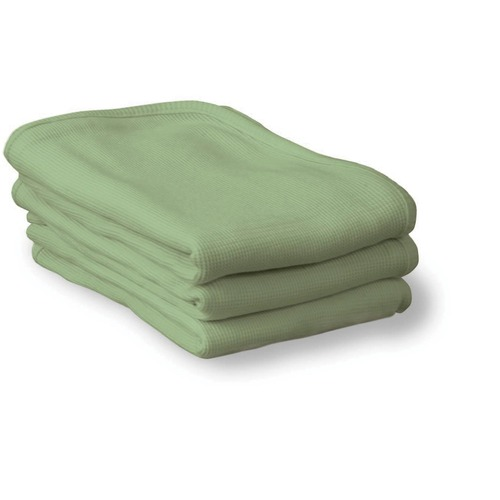 """Foundations ThermaSoft Blankets - 30"""" Width x 40"""" Length - Mint"""