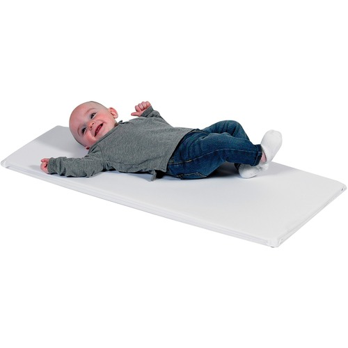 """Children's Factory White Changing Pad - Single - 35.50"""" (901.70 mm) Length x 16.75"""" (425.45 mm) Width x 1"""" (25.40 mm) Thickness - White"""