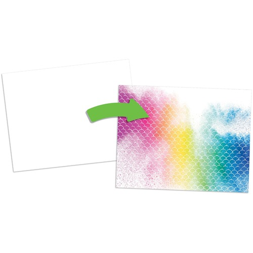 """Roylco Color Reveal Textures Paper - Fun and Learning, Collage, Craft Project - Recommended For 4 Year - 8.50"""" (215.90 mm)Width x 11"""" (279.40 mm)Length - 96 / Pack"""