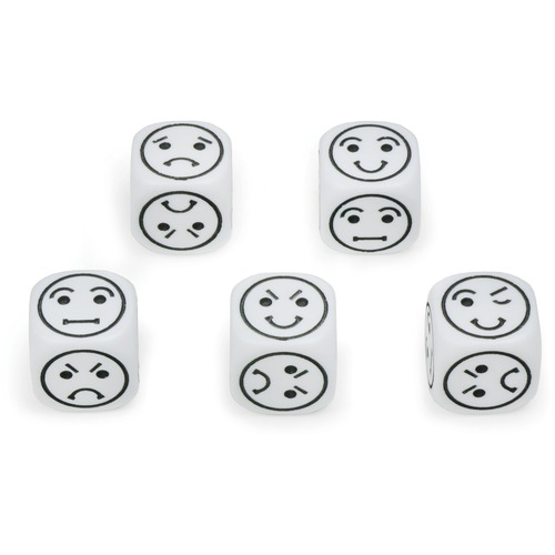 SI Manufacturing Emotion Dice - Skill Learning: Identification, Emotion, Matching