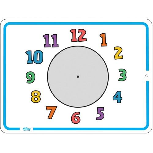 "Quartet Double-Sided Lap Board Kit - Time, 9"" x 12"" - 12"" (1 ft) Width x 9"" (0.8 ft) Height - Lap"