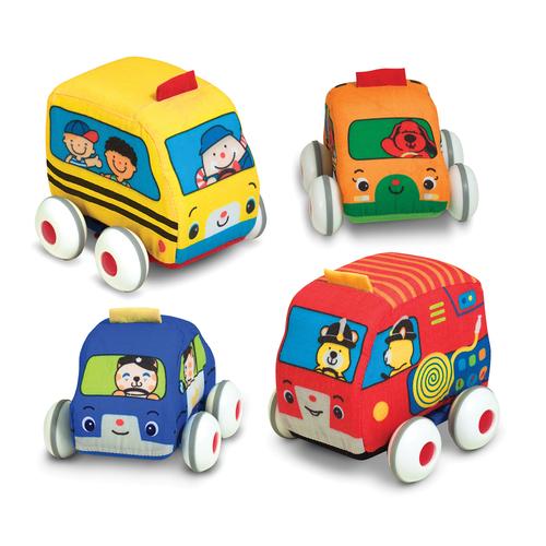 Melissa & Doug Pull-Back Vehicles - 9 Month & Up Age