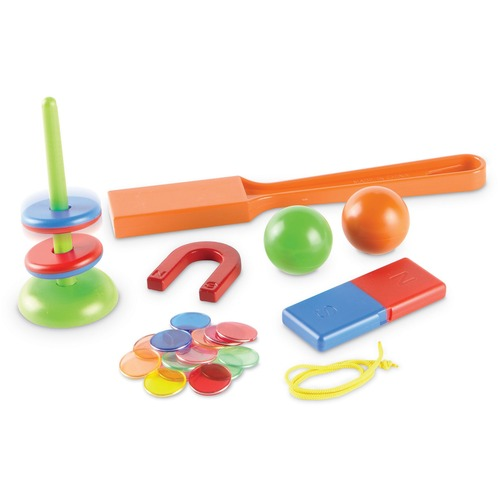 Learning Resources STEM Explorers Magnet Movers - Skill Learning: Physics, Exploration, STEM, Motion, Building, Critical Thinking, Problem Solving, Fine Motor - 5-9 Year - 39 Pieces