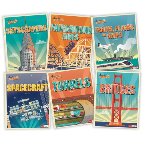 Capstone Publishers Awesome Engineering Printed Book by Sally Spray - Book - Grade 3-6