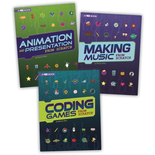 Capstone Publishers Code It Yourself 4D Printed Book by Rachel Ziter - Book - Grade 3-5