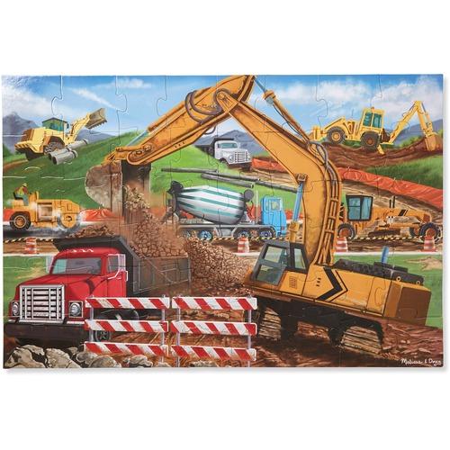 Melissa & Doug Building Site Floor Puzzle - 48 Piece