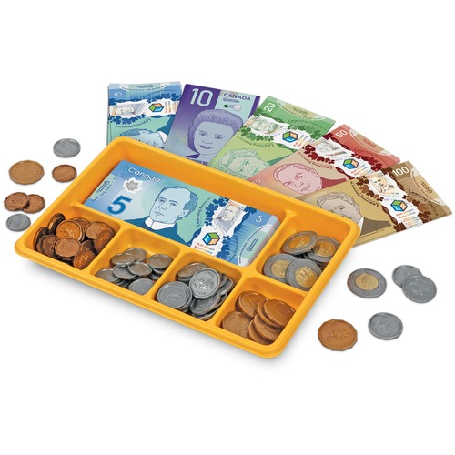 Learning Resources Canadian Currency X-Change Activity Set - Theme/Subject: Fun, Learning - Skill Learning: Currency - 5+ Set
