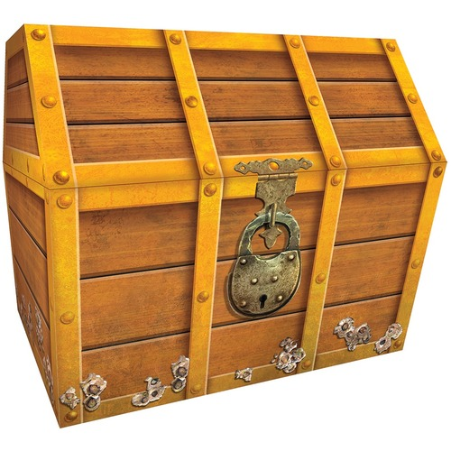 """Teacher Created Resources Treasure Chest - External Dimensions: 9.5"""" Width Height"""