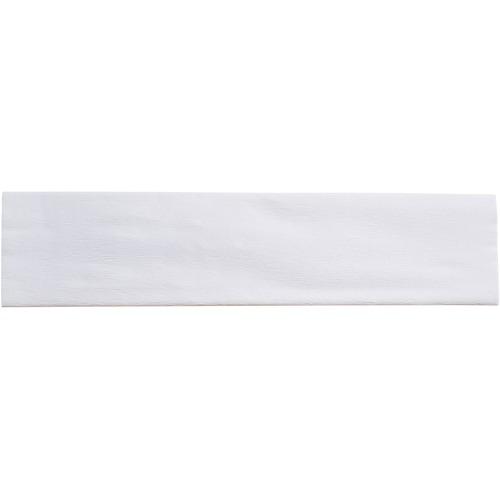 "Creativity Street Crepe Paper - Art Project, Decoration, Classroom, Flower - 20"" (508 mm)Width x 90"" (2286 mm)Length - 1 Sheet - White"