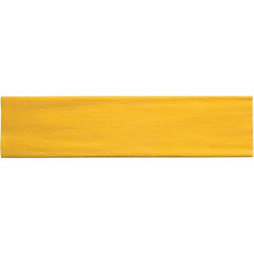 "Creativity Street Crepe Paper - Art Project, Decoration, Classroom, Flower - 20"" (508 mm)Width x 90"" (2286 mm)Length - 1 Sheet - Yellow"