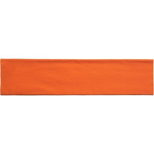 "Creativity Street Crepe Paper - Art Project, Decoration, Classroom, Flower - 20"" (508 mm)Width x 90"" (2286 mm)Length - 1 Sheet - Orange"