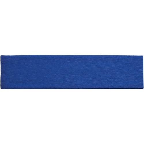 "Creativity Street Crepe Paper - Art Project, Decoration, Classroom, Flower - 20"" (508 mm)Width x 90"" (2286 mm)Length - 1 Sheet - Blue"