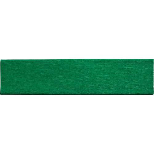 """Creativity Street Crepe Paper - Art Project, Decoration, Classroom, Flower - 20"""" (508 mm)Width x 90"""" (2286 mm)Length - 1 Sheet - Green"""