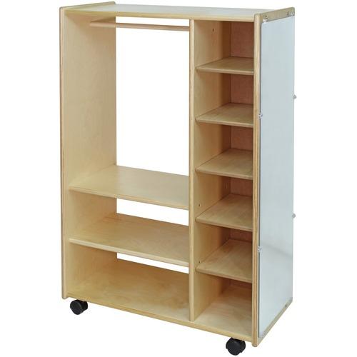 "Trojan Dress-Up Centre - 48"" Height x 16"" Width x 36"" Depth - Baltic Birch Plywood - 1 Each"