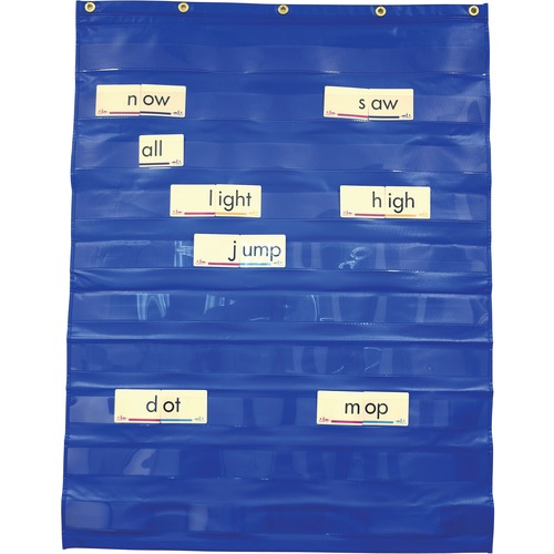 SI Manufacturing Standard Pocket Chart - Theme/Subject: Learning - 1 Each