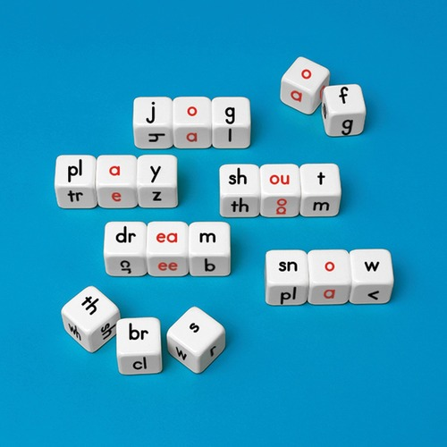 Primary Concepts Word Building Cubes - Theme/Subject: Learning - Skill Learning: Vowels, Word, Consonant, Word Building - 20 / Set