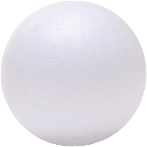 "DBLG Import Styrofoam Balls - 25mm - Decoration, Craft Project, Science Project, Diorama, Holiday Craft x 0.98"" (25 mm)Diameter - 24 / Bag - Styrofoam"