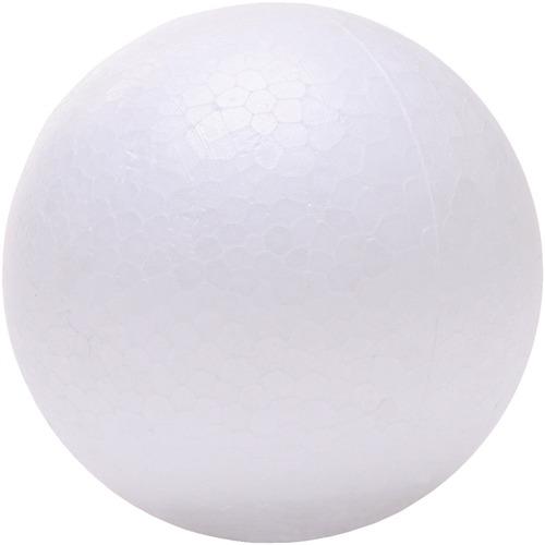 "DBLG Import Styrofoam Balls - 50mm - Decoration, Craft Project, Science Project, Diorama, Holiday Craft x 1.97"" (50 mm)Diameter - 24 / Bag - Styrofoam"