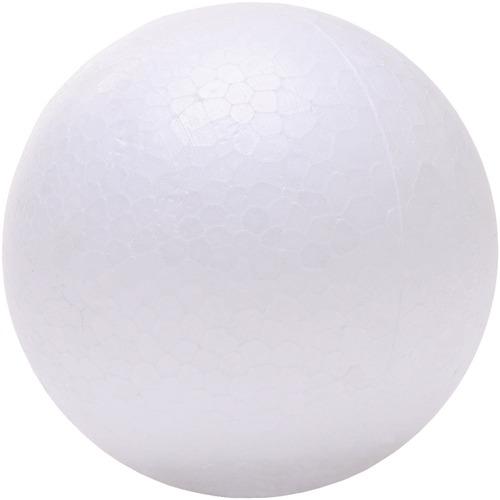 "DBLG Import Styrofoam Balls - 75mm - Decoration, Craft Project, Science Project, Diorama, Holiday Craft x 2.95"" (75 mm)Diameter - 12 / Bag - Styrofoam"