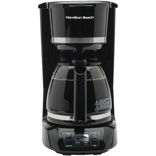 Hamilton Beach HMB43672 - 12-Cup Coffee Brewer - Programmable - 12 Cup(s) - Multi-serve - Black