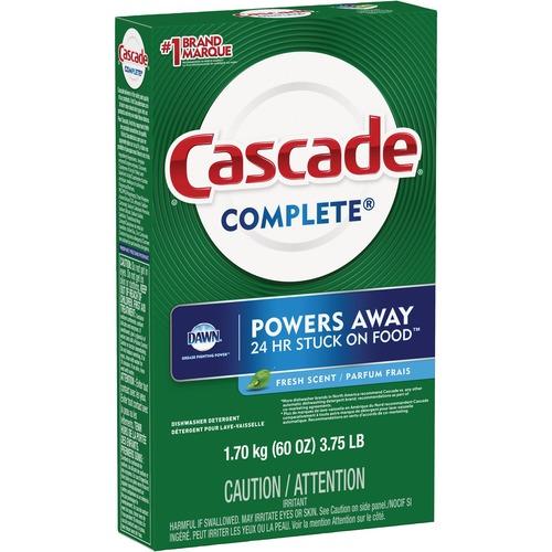 Cascade Dishwashing Detergent - Powder - 1.70 kg - Fresh Scent - 1 Each