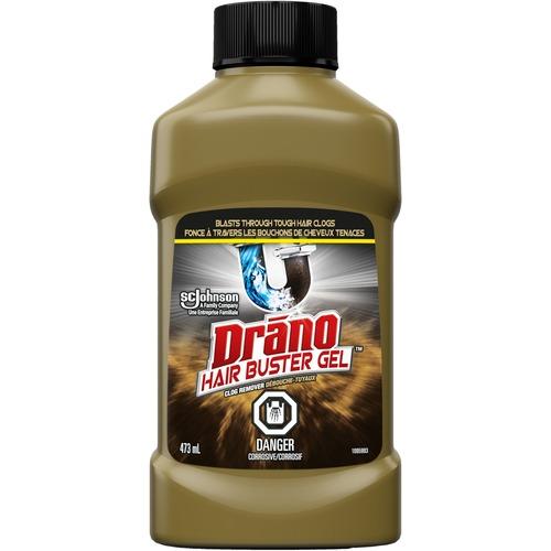 Drano Hair Buster Gel Clog Remover - Gel - 16 fl oz (0.5 quart) - 1 Each