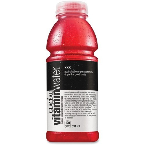 Coca-Cola Flavored Water - Ready-to-Drink - Acai Berry Flavor - 591 mL - 12 / Case / Bottle
