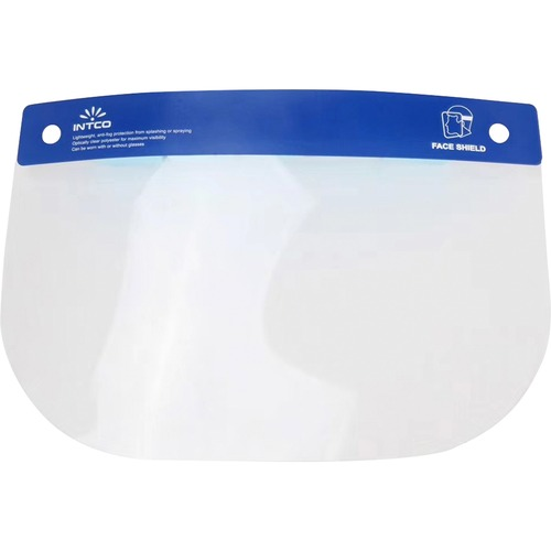 Special Buy Face Shield - Recommended for: Face - Lightweight, Anti-fog, Comfortable, Wraparound Design - Fog Protection - Polyester - Clear - 25 / Box